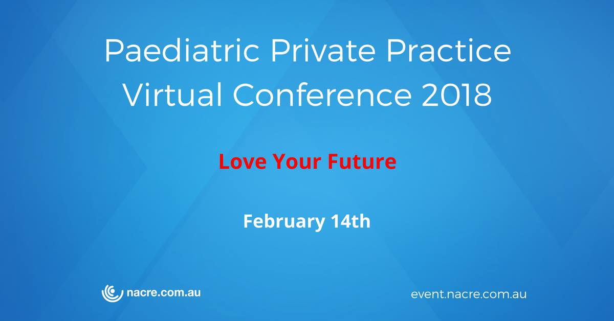 Paediatric Private Practice Virtual Conference 2018